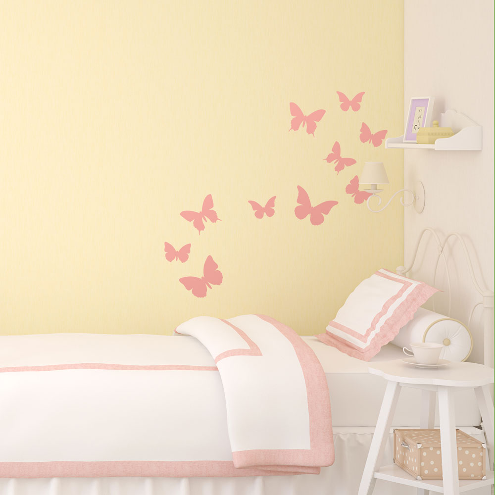 Classic butterfly wall stickers | Stickerscape | UK