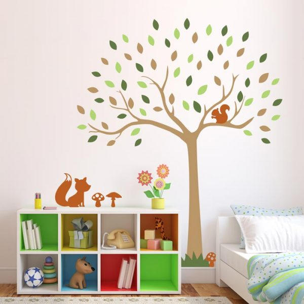 Classic Woodland wall stickers