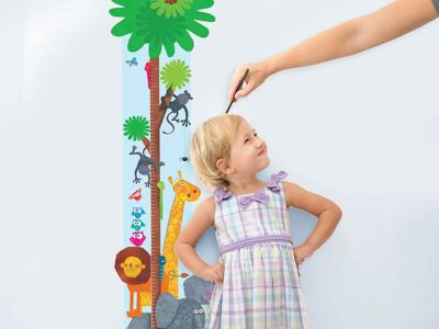 Height chart wall stickers | Stickerscape | UK
