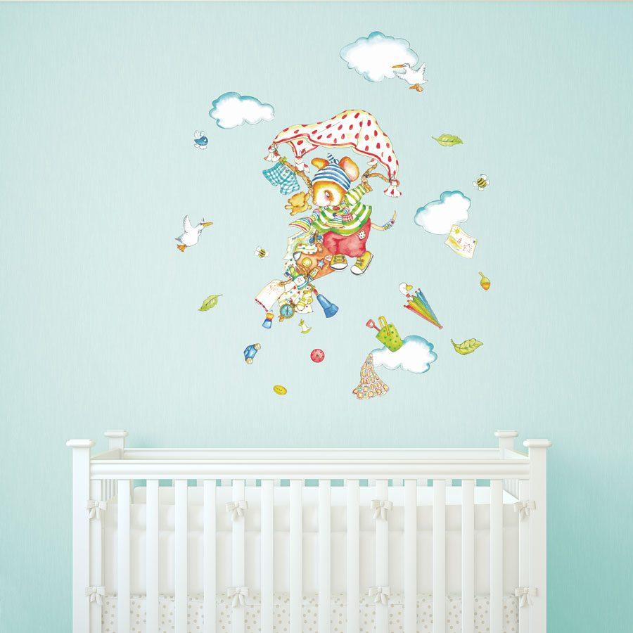 Adventure Mouse wall sticker   Nursery wall stickers   Stickerscape   UK