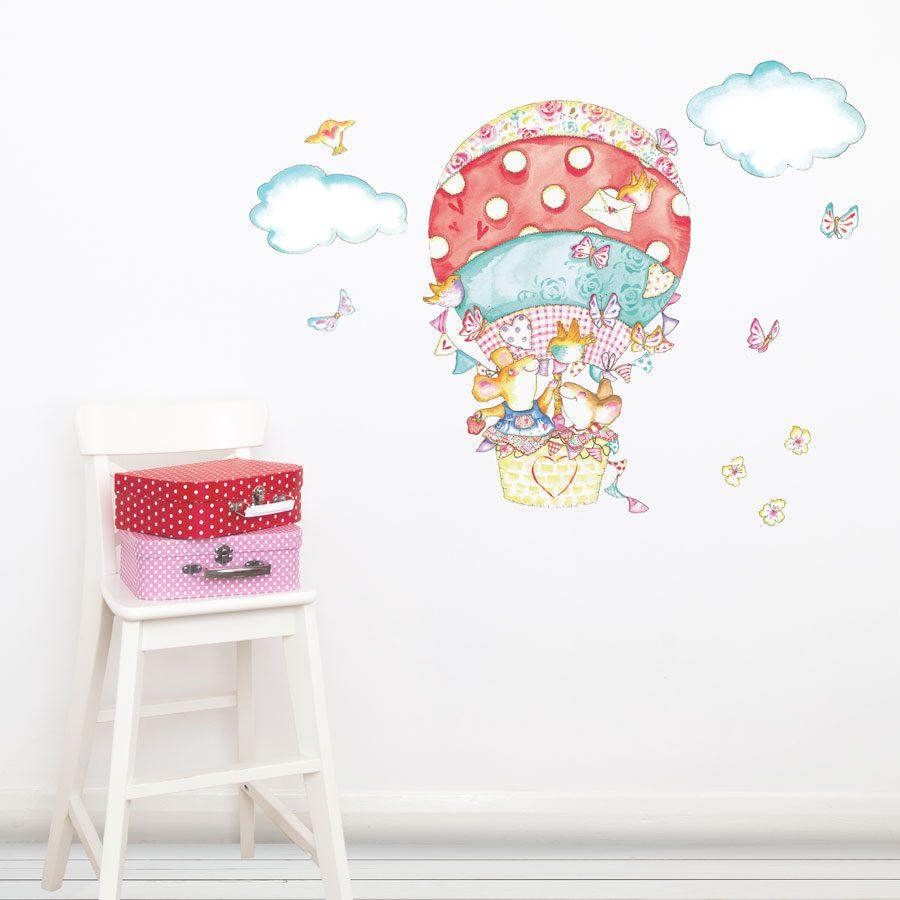 Spotty balloon wall sticker | Baby nursery wall stickers | Stickerscape | UK
