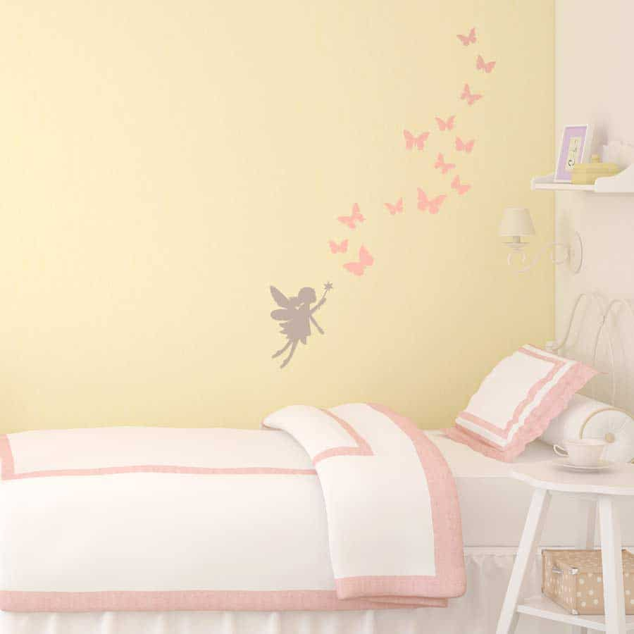 Fairies and butterflies wall sticker