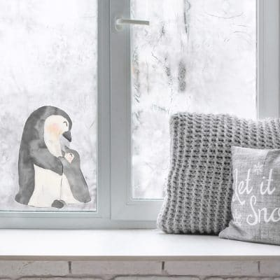 Christmas Window stickers perfect for decorating for Christmas festivities