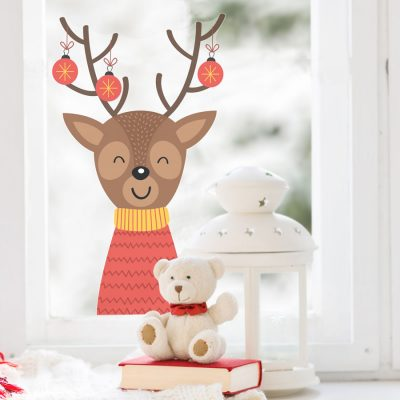 Holiday Characters | Christmas Window Stickers | Stickerscape