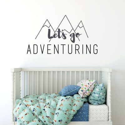 wall sticker quotes | stickerscape | uk | nursery, bedroom and playroom
