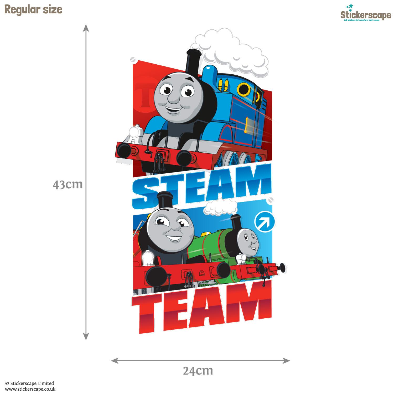 Steam Team wall sticker Stickerscape