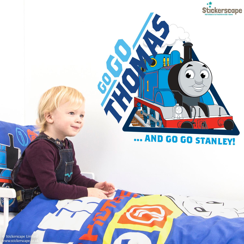 Go Go Thomas Wall Sticker   Thomas The Tank Engine Wall Stickers    Stickerscape   UK Part 66
