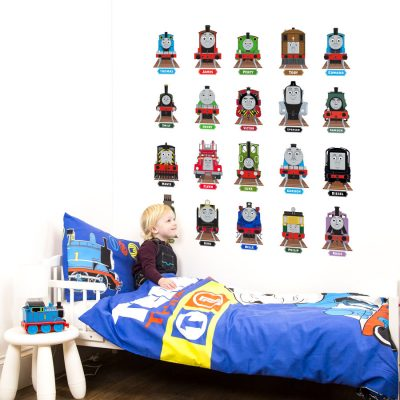 Thomas & Friends Collector's Edition wall stickers | Thomas the tank engine wall stickers | Stickerscape | UK