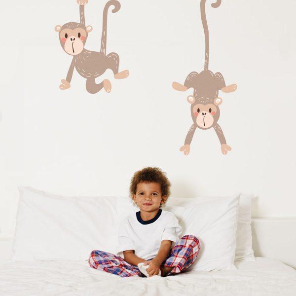 Monkey wall stickers   Pirate wall stickers   Stickerscape   UK