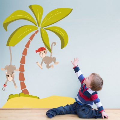 Pirate bundle wall sticker pack (Bundle A) | Pirate wall stickers | Stickerscape | UK