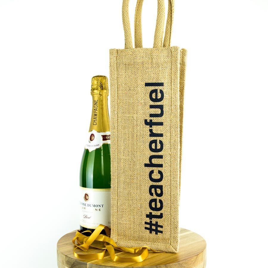#teacherfuel bottle bag | Teacher gifts | Stickerscape | UK