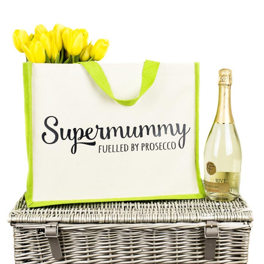 Supermummy shopper bag | Gifts for mum | Stickerscape | UK