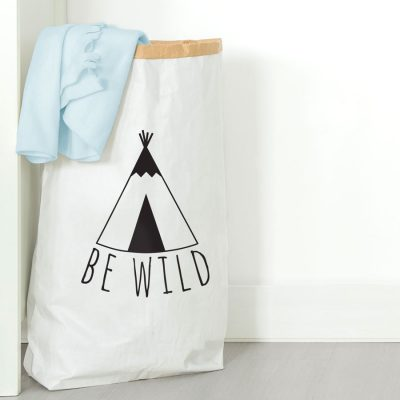 Be Wild paper sack | Paper sacks | Stickerscape | UK