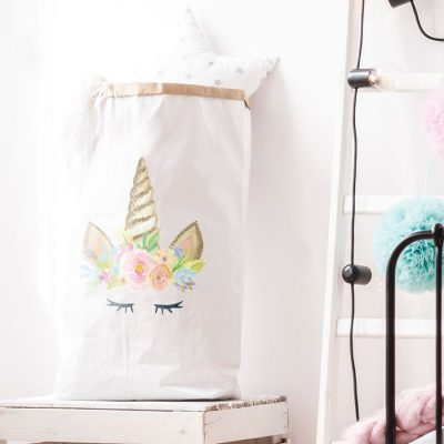 Unicorn horn paper sack | Paper sacks | Stickerscape | UK