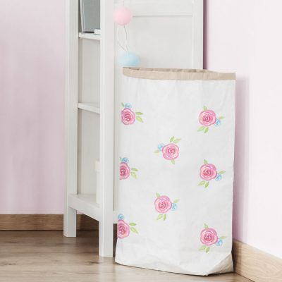 Watercolour roses paper sack | Paper sacks | Stickerscape | UK