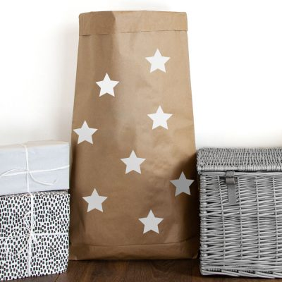 Stars paper sack | Paper sacks | Stickerscape | UK