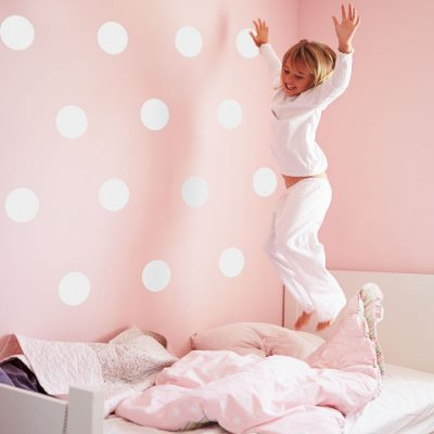 White spot wall stickers | Shape wall stickers | Stickerscape | UK