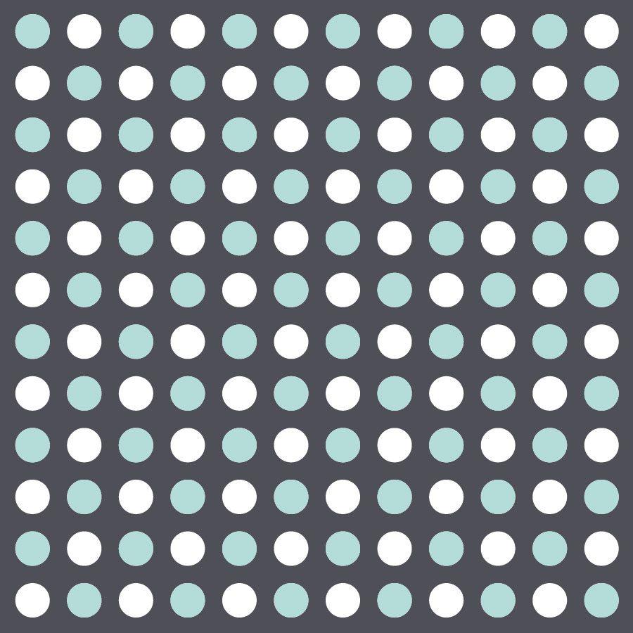 Aqua and white dot wall stickers | Shape wall stickers | Stickerscape | UK