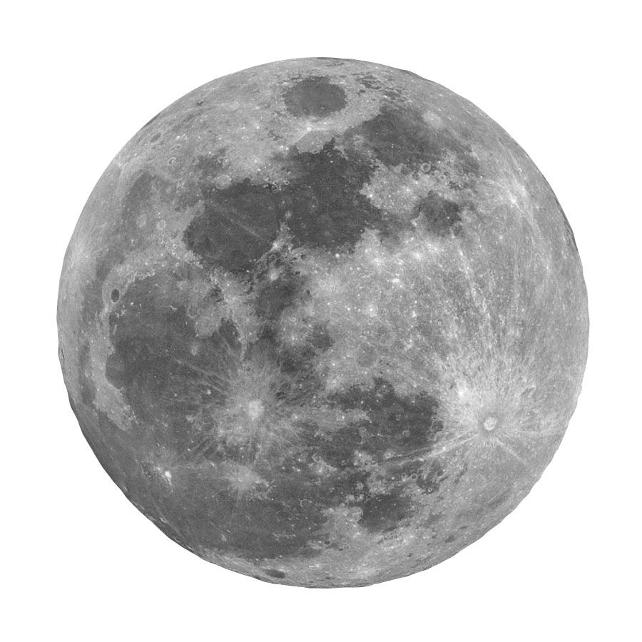 Full moon wall sticker | Space wall stickers | Stickerscape | UK