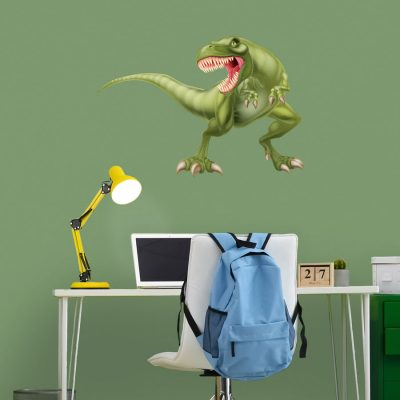 Fierce T-Rex wall sticker (Large) perfect for adding a statement wall graphic to create a dinosaur themed room for a child