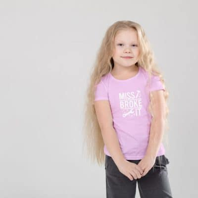Mr/Miss Fix It Children's T-shirt (Pink) perfect gift for fathers day, birthday or Christmas