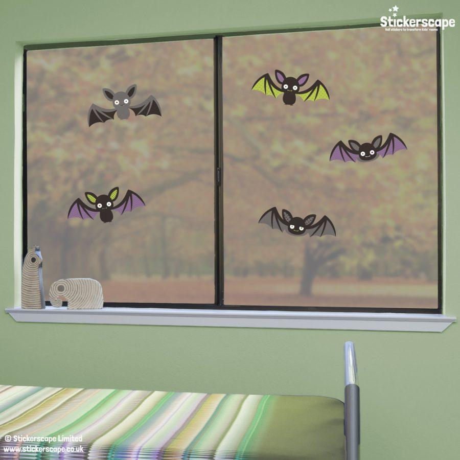 Bat window stickers | Halloween window stickers | Lifestyle 1
