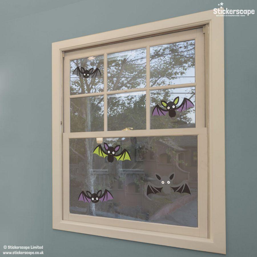 Bat window stickers (001614W) | Halloween window stickers | Lifestyle 2