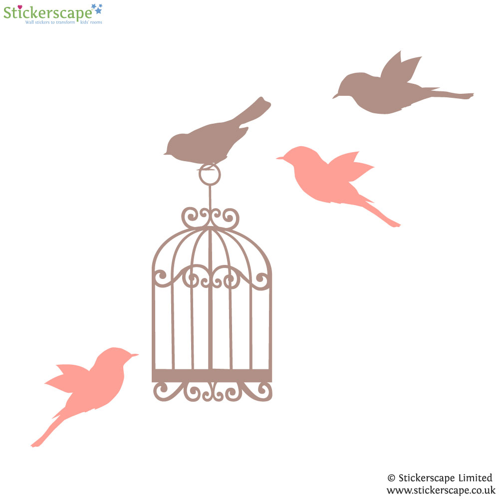 28 birdcage wall stickers tree with bird cage wall stickers wall stickers classic woodland wall stickers classic birdcage wall birdcage wall stickers on walls or windows
