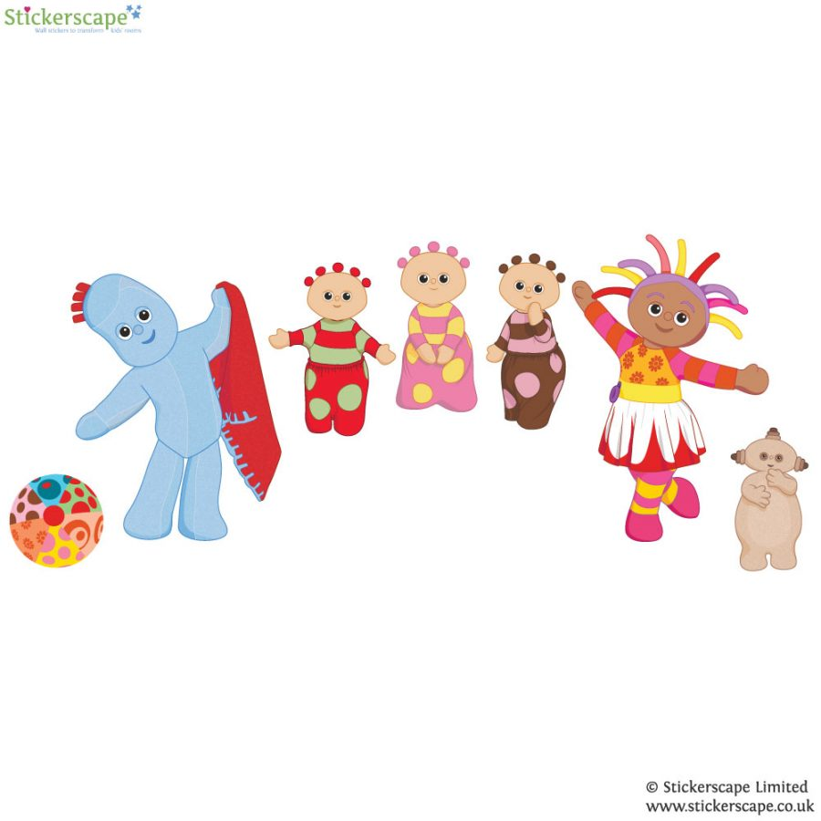 In the Night Garden wall stickers | Stickerscape | UK