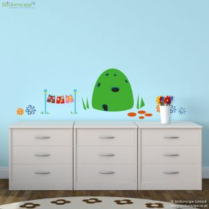 In The Night Garden House Scene Wall Sticker Pack Part 51