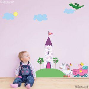 Princess Peppa Pig Wall Stickers Pack Part 10