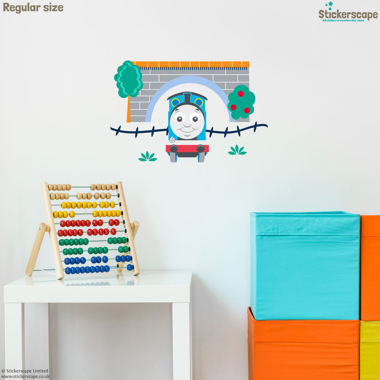 thomas amp friends tunnel wall sticker pack stickerscape uk thomas amp friends tunnel wall sticker pack stickerscape uk