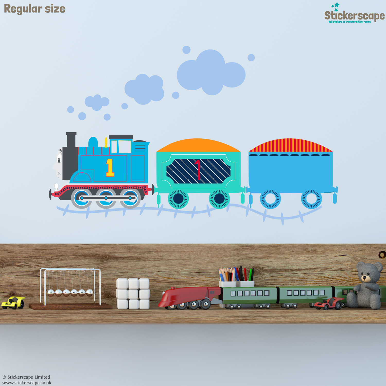 thomas the tank engine wall sticker pack stickerscape uk thomas and friends wall stickers bellas little ones buy