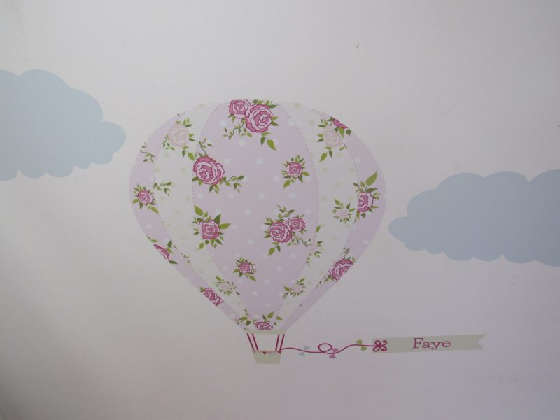 One of Each - Personalised vintage hot air balloon
