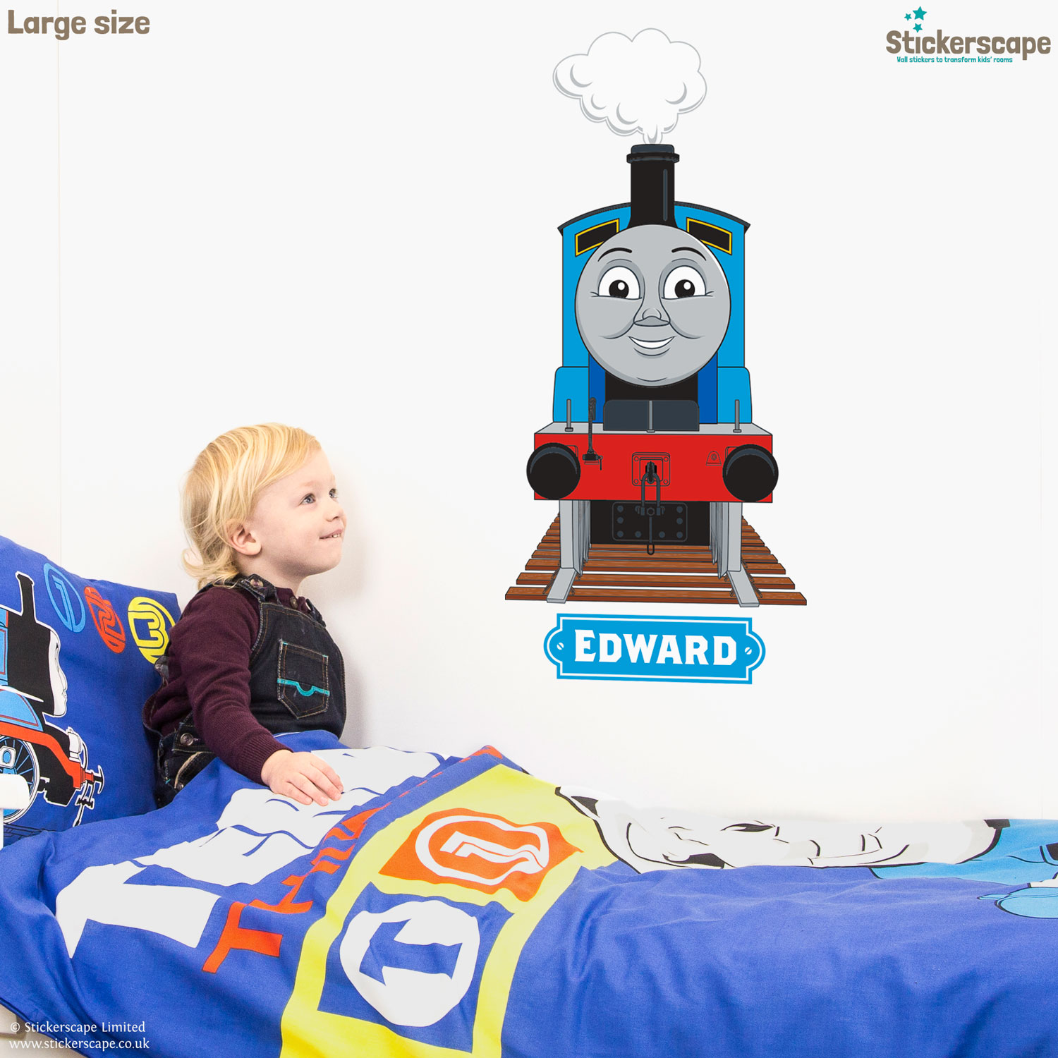 Superb Thomas U0026 Friends Engines Wall Sticker Part 29