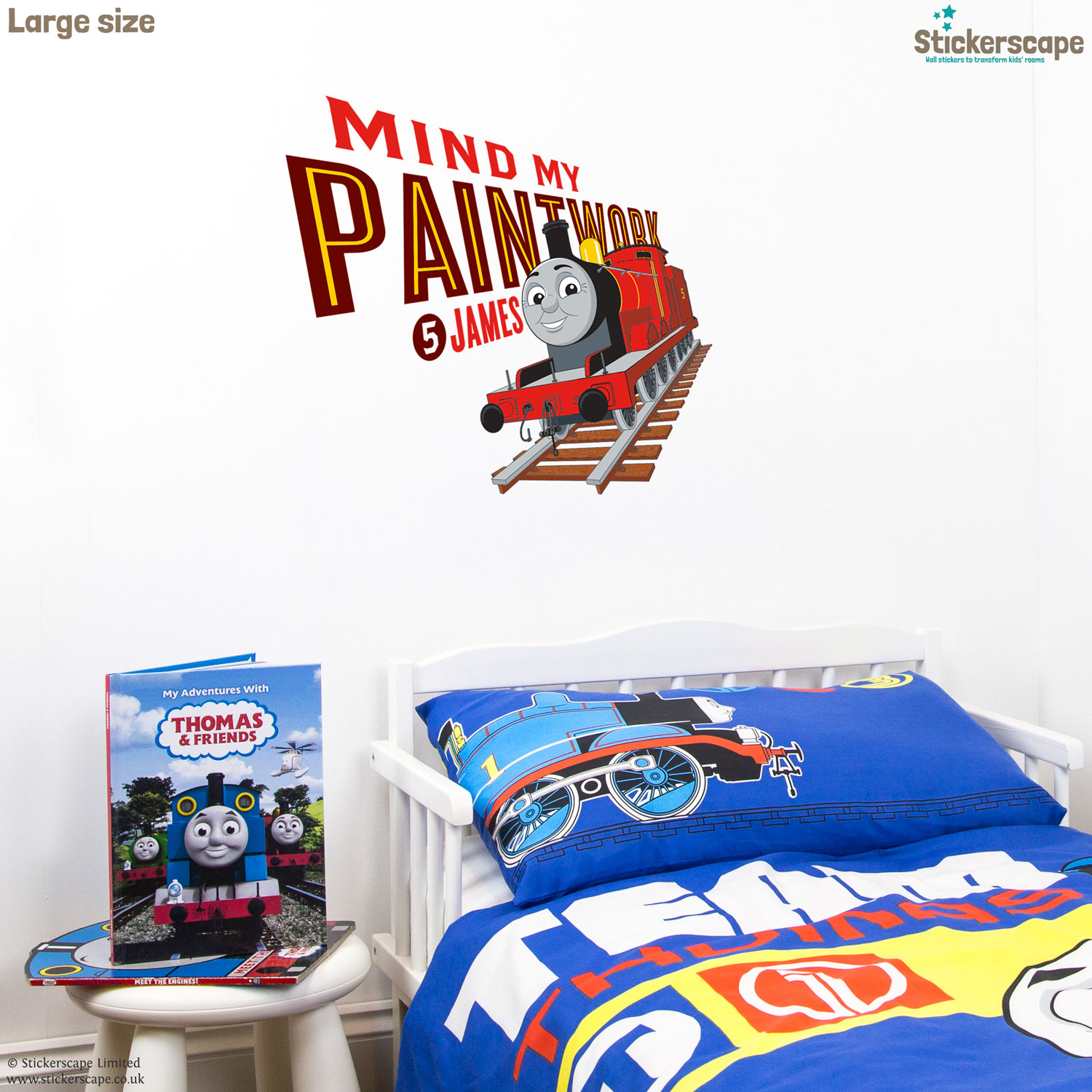 Thomas U0026 Friends Icons Wall Sticker Part 37