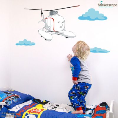 Harold the Helicopter wall sticker | Thomas the Tank Engine | Stickerscape | UK