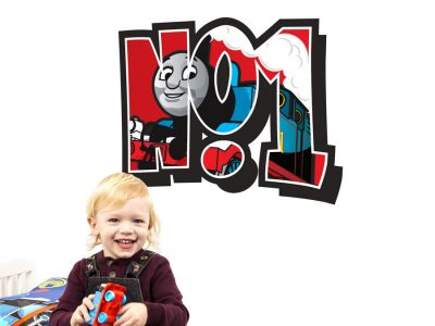 No.1 Thomas the tank engine wall sticker | Thomas & Friends | Stickerscape | UK
