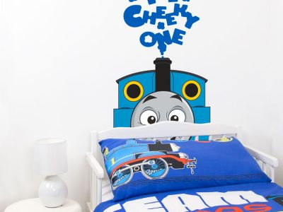 Thomas the cheeky one wall sticker | Thomas the tank engine wall stickers | Stickerscape | UK