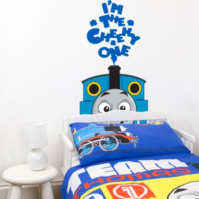 Thomas the cheeky one wall sticker   Thomas the tank engine wall stickers   Stickerscape   UK