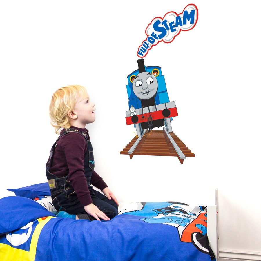 Full of Steam Thomas wall sticker | Thomas and Friends | Stickerscape | UK
