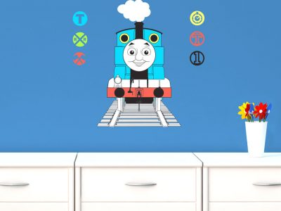 Thomas with railway signs wall sticker | Thomas the tank engine | Stickerscape | UK