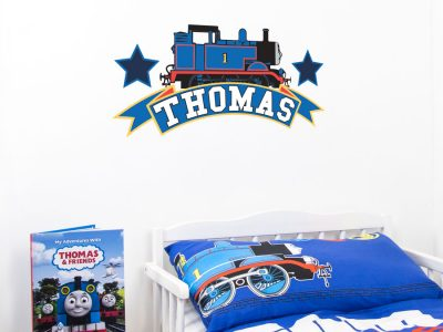 Thomas the Tank engine emblem wall sticker | Thomas and Friends | Stickerscape | UK