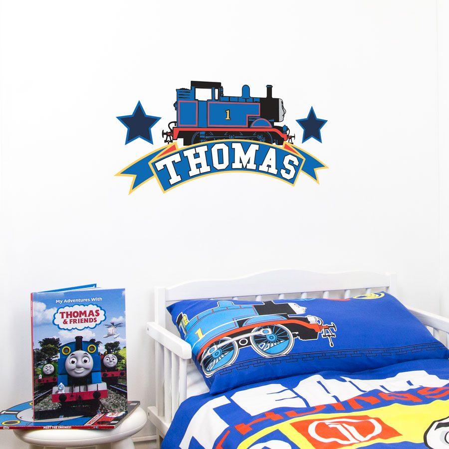 Thomas the Tank engine emblem wall sticker   Thomas and Friends   Stickerscape   UK