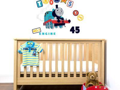 Thomas No.1 engine wall sticker | Thomas & Friends | Stickerscape | UK