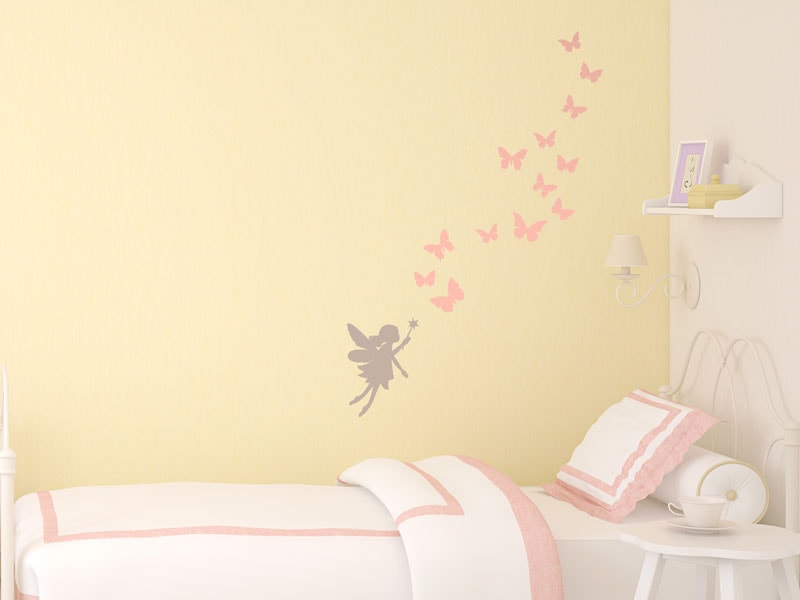 f1a91895db Fairy Princess wall stickers | Create a fairy themed nursery | Stickerscape