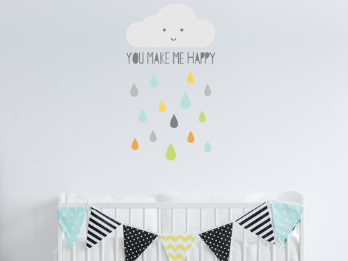 Baby nursery wall stickers | Stickersacpe | UK
