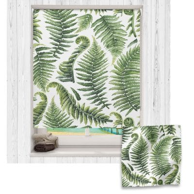 Fern roller blind includes a dinosaur themed roller blind perfect for decorating a children's room