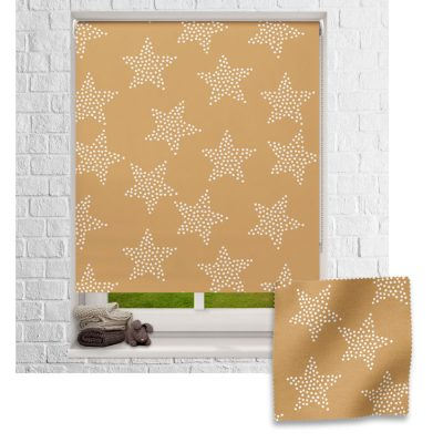 Dotted Stars roller blind includes a space themed roller blind perfect for decorating a children's room