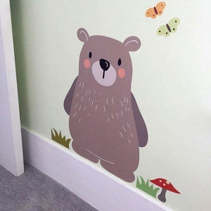 Woodlad Friend Bear wall sticker